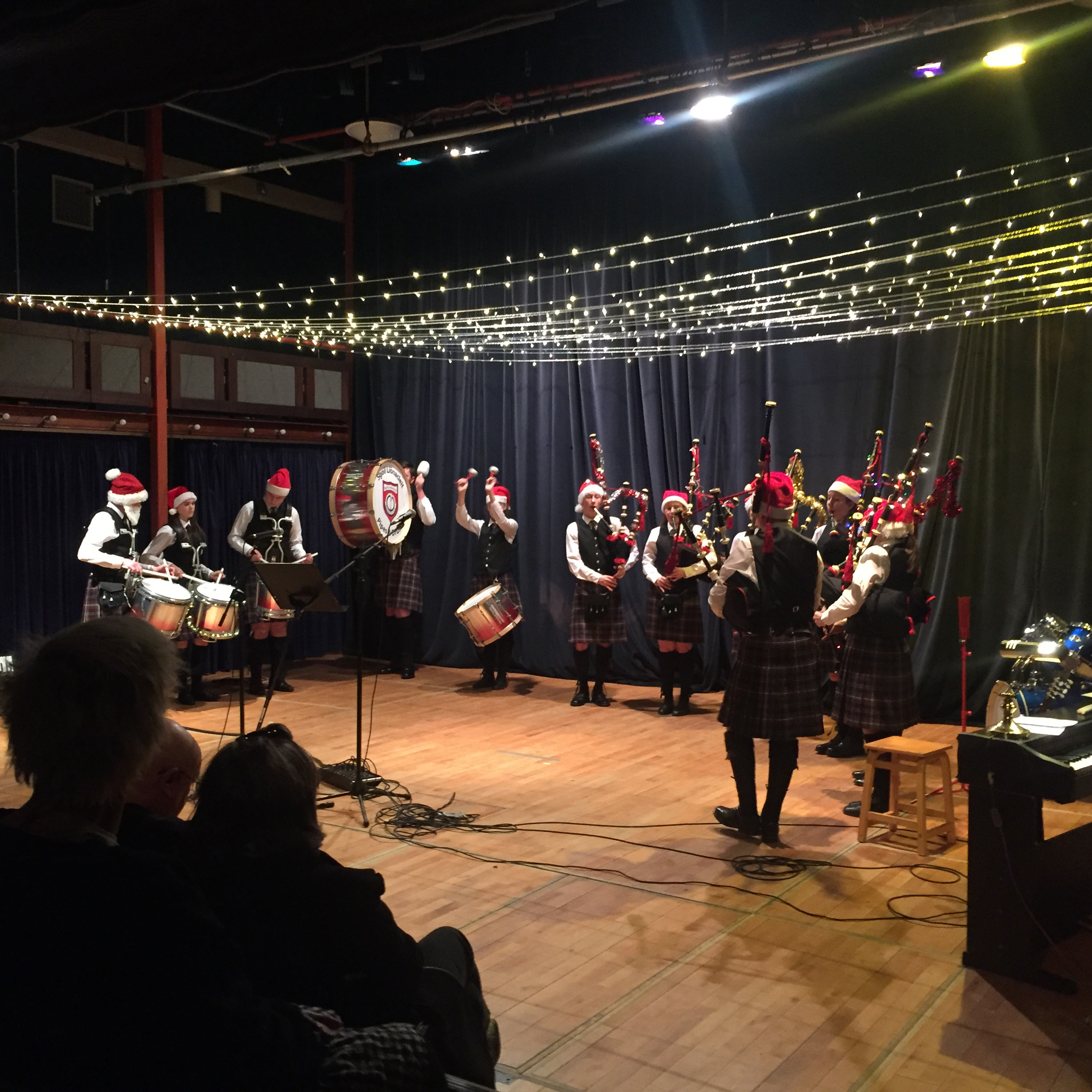 This image is of the school christmas concert held on Monday 16th December.